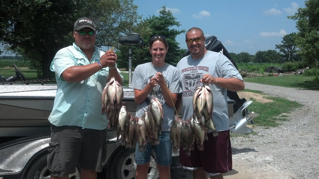 Rend lake fishing report best southern illinois current for Best fishing lakes in illinois